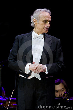 Jose Carreras in Zagreb Editorial Photo