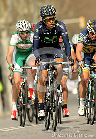 Jose Herrada Movistar Team Editorial Stock Photo