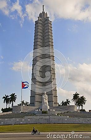 Jose Marti Monument in Plaza de la Revolucion. La