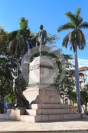 The Jose Marti statue ,Havana
