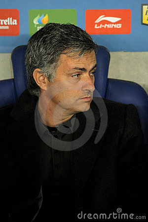 Jose Mourinho of Real Madrid Editorial Photo