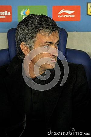 Jose Mourinho of Real Madrid Editorial Photo