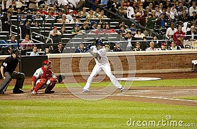 Jose Reyes and Carlos Ruiz - Baseball Editorial Image