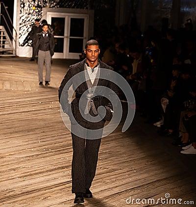 Free Joseph Abboud Mens Fall 2019 Fashion Show As Part Of New York Fashion Week Stock Photos - 138787473