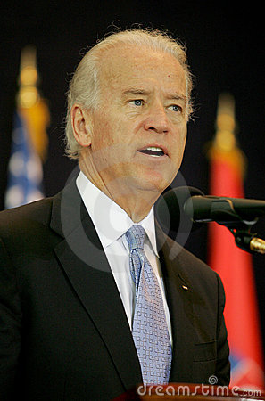 Joseph Biden in Serbia Editorial Photo