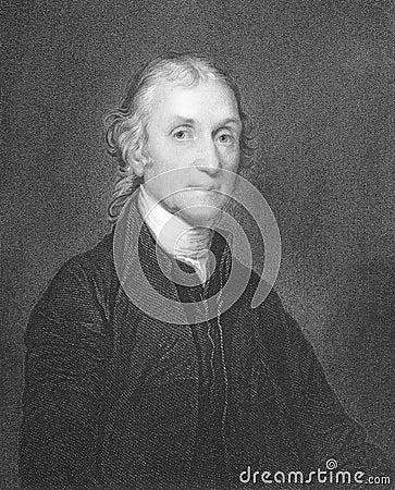Joseph Priestley Editorial Stock Photo
