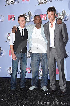 Josh Duhamel, Shia Labeouf,Tyrese Gibson Editorial Photography