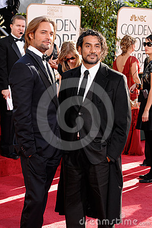 Josh Holloway, Naveen Andrews Editorial Photo