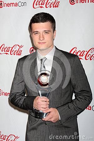 Josh Hutcherson arrives at the CinemaCon 2012 Talent Awards Editorial Photo