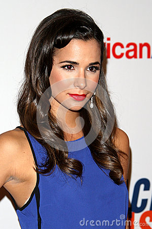 Josie Loren arrives at the 19th Annual Race to Erase MS gala Editorial Photo