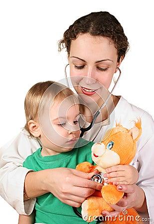 jouet de docteur d 39 enfant images stock image 1740114. Black Bedroom Furniture Sets. Home Design Ideas