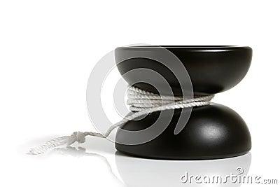 Jouet noir de yo-yo