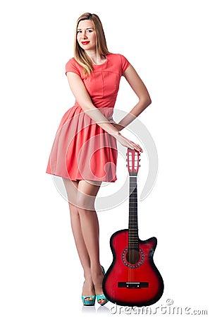 Guitare femelle