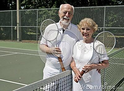 Joueurs de tennis aînés