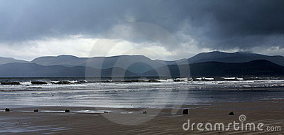 Jour orageux au brin de Rossbeigh