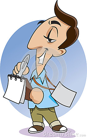 http://thumbs.dreamstime.com/x/journalist-writing-notebook-neck-has-pass-31951626.jpg