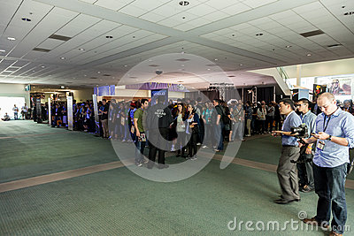 Journalsts at E3 2012 Editorial Image