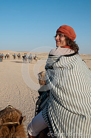 Journey on camel
