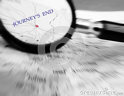 Journey end concept
