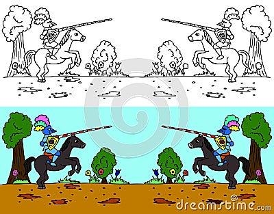 Joust riding