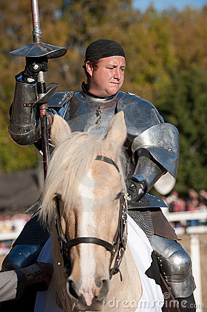 Jouster Jason Armstrong Editorial Stock Image