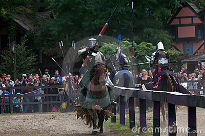 Jousting knights Editorial Image