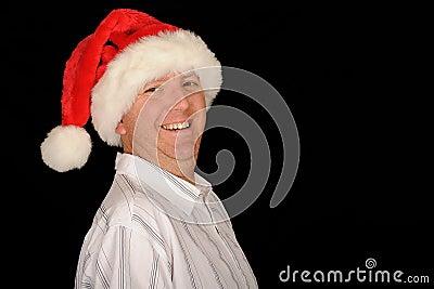 Jovial Christmas Man