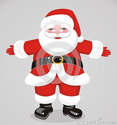 Jovial Santa Claus