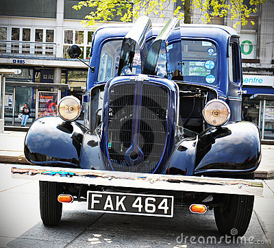 Jowett Bradford vintage car Editorial Stock Photo