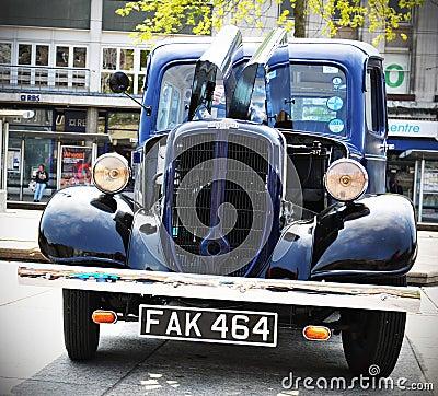 Jowett Bradford vintage car Editorial Stock Photo