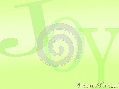 Joy background letters