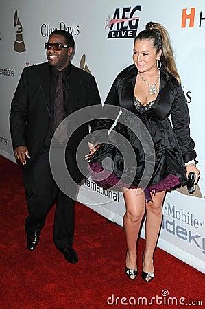 Joy Enriquez, Rodney Jerkins Editorial Photo