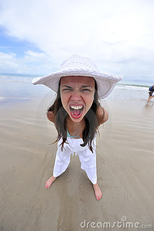 Joy & fun on the beach