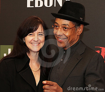 Joy McManigal and Giancarlo Esposito Editorial Stock Photo