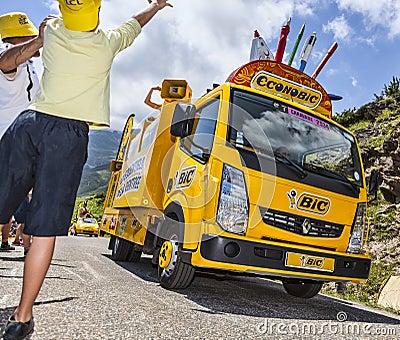 The Joy of Publicity Caravan Editorial Photo