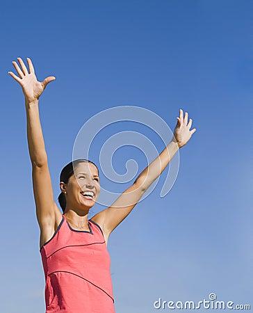 Joy of victory