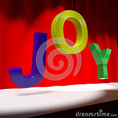 Joy Word On Stage