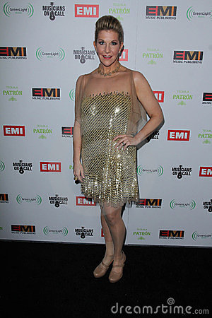 Joyce DiDonato at the EMI Music 2012 Grammy Awards Party, Capital Records, Hollywood, CA 02-12-12 Editorial Image