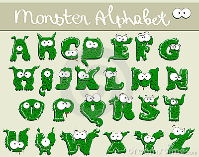 Joyful Cartoon font - from A to Z