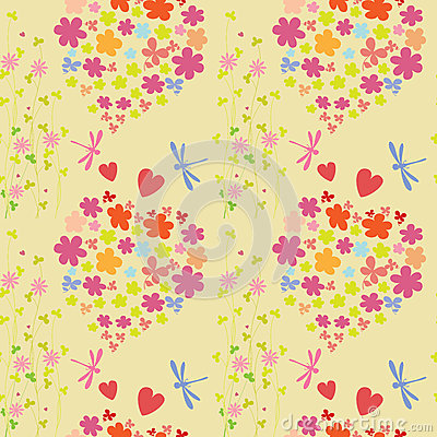 Joyful and colorful pattern