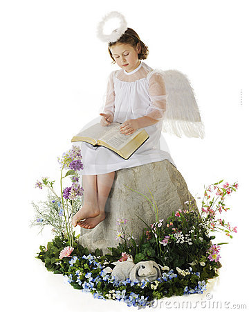 Joyful Easter Angel
