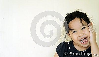 Joyful girl