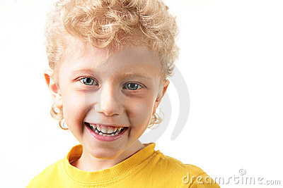 Joyful lad