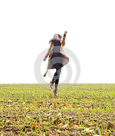 Joyful leap