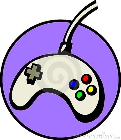 Joypad videogame controller. Vector file available
