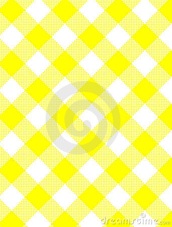 JPG Woven Yellow Gingham