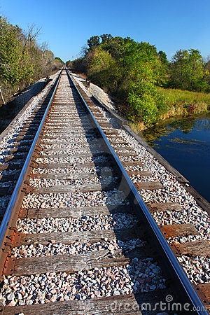 Järnvägspår - Illinois
