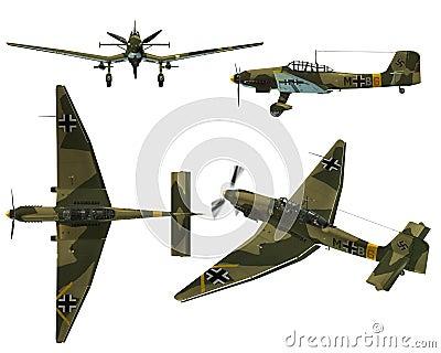 JU87D Stuka