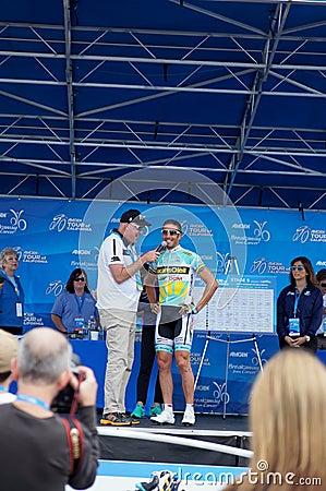 Juan Antonio Flecha 2013 Tour of California Editorial Photo