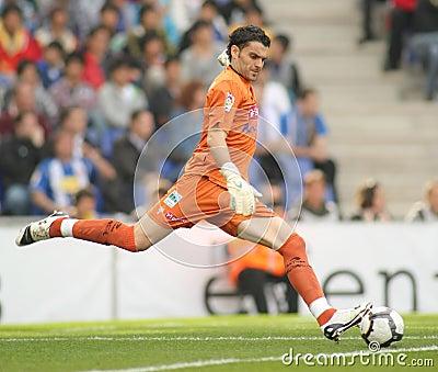 Juan Pablo Colinas of Sporting Gijon Editorial Stock Image